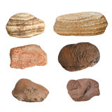 Collection of rocks Royalty Free Stock Photos