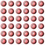 Collection of round buttons Royalty Free Stock Image