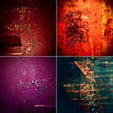 Collection of rusty old texture Royalty Free Stock Image