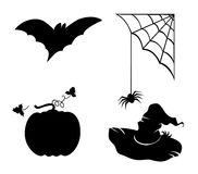 Collection of s for Halloween1 Royalty Free Stock Photos