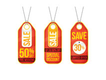 Collection of sale labels price tags banners stickers badges tem Royalty Free Stock Photography