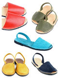 Collection of Sandals Stock Image