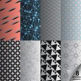 Collection sans couture de vecteur Texture de Colorfull Photos stock