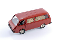 Collection scale model of the car Minibus. Collection scale model of the minibus. The model is made of metal. For a basis of model the machine issued in the last Royalty Free Stock Images