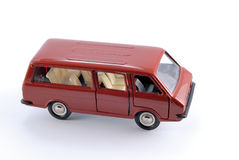 Collection scale model of the car Minibus Stock Images