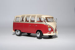 Collection scale model of the car Minibus Royalty Free Stock Image