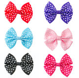 Collection set of colorful ribbon bows Royalty Free Stock Image