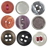 Collection sewing button Stock Image