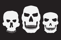 Collection of skulls Stock Photos