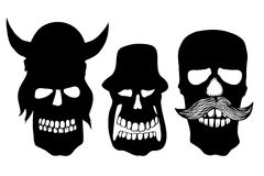 Collection of skulls Stock Photography