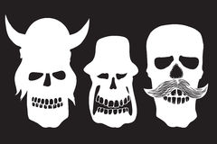 Collection of skulls Stock Image