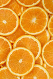 Collection of sliced orange background Stock Photos