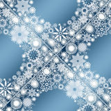Collection of snowflakes. (set of snowflakes) illustration Royalty Free Stock Photos