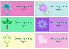 Collection of Spa and Wellness logos Royalty Free Stock Photo