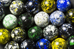 Speckled Marbles Stock Photo