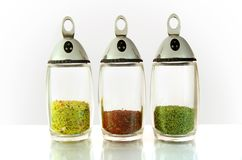Collection of spices Stock Photography
