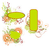 Collection of spring banners. Vector illustration Stock Photography