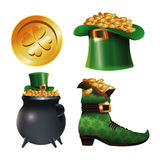 Collection st patrick day traditional Stock Images