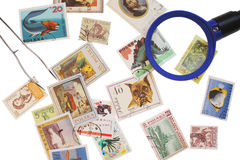 Collection stamp Royalty Free Stock Image