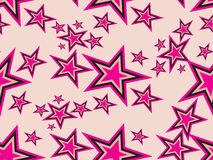 Collection of star with background Stock Image