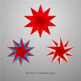 Collection Star logo Royalty Free Stock Photos
