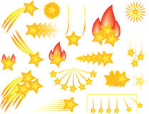 Collection of Stars Stock Photography