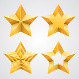 The collection of stars Royalty Free Stock Image