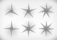 Collection of stars Royalty Free Stock Image