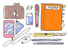 Collection of stationary Stock Images
