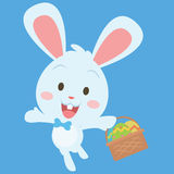 Collection stock of easter egg character Royalty Free Stock Image