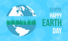 Collection stock of happy earth day. Vector illustration Stock Photo
