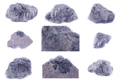 Collection of stone mineral Serpentine Stock Image