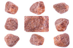 Collection of stone mineral Spinel Stock Photography