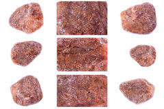 Collection of stone mineral Spinel Stock Photos