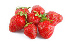Collection of strawberries Stock Photo