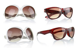 Collection of sun glasses Stock Photography
