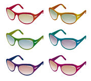 A collection of sunglasses Stock Images