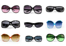 Collection of sunglasses  Royalty Free Stock Image