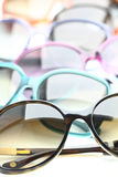 Collection of sunglasses Stock Photos
