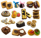 Collection of sweet things Stock Photography