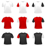 Collection of t-shirts Royalty Free Stock Photo