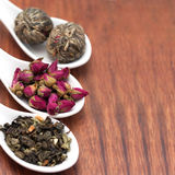 Collection of tea Royalty Free Stock Image
