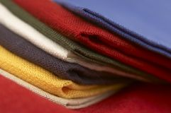 Collection of Textile Royalty Free Stock Photo