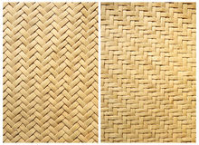 Collection of texture bamboo basket Stock Photo