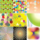 Collection textures Royalty Free Stock Photography