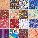 Collection textures. Royalty Free Stock Photos