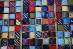 Collection of ties Stock Photography