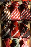Collection of ties. Collection of elegant ties Stock Image