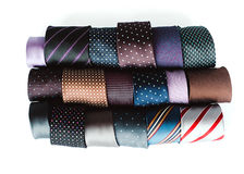 Collection of ties Stock Photos