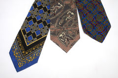 Collection of ties Royalty Free Stock Photography